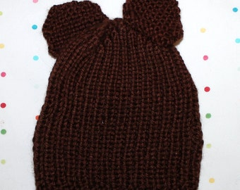 Baby Bear Newborn Hat