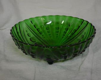 Anchor Hocking Burple Green Large Bowl