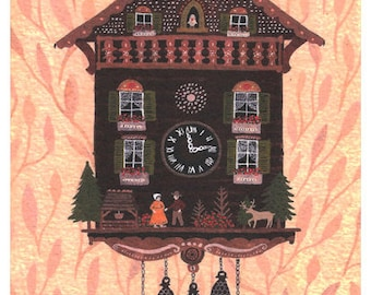 coo coo clock card