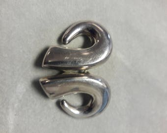 Sterling Silver Clip On Zina Earrings
