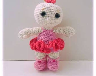Baby dancer crochet tutorial PDF