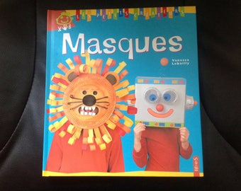 Activity book for children: creations of masks, from 5 years, hobby