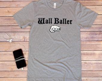 Wall Baller (20lb), Men's Workout Shirt, Crossfit, Funny Workout Shirt, Workout Gifts For Him, Gym Shirt, Fitness Gifts, Gym Shirt