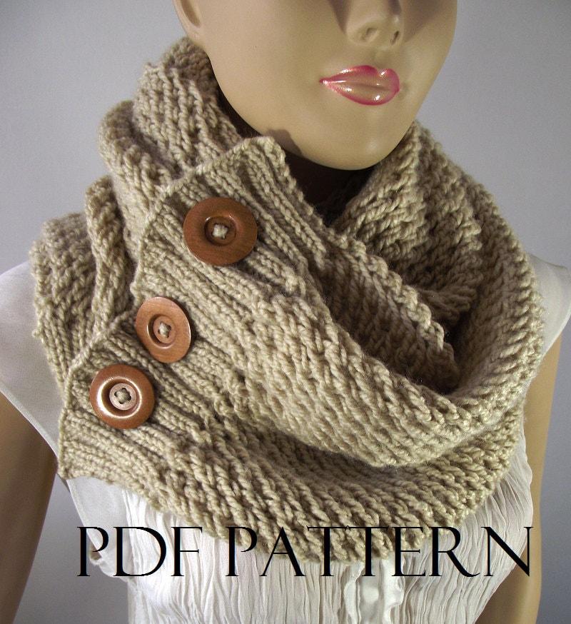 Knitting Pattern Scarf Big Scarf Patterns Loulou Scarf Cowl