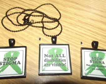 Mental Health Awareness Necklace