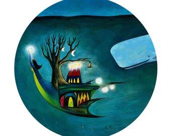 Underwater Treeship