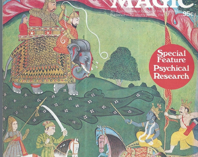 Man, Myth and Magic Part 9 Magazine by Richard Cavendish 1970