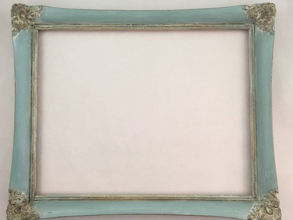 Distressed Picture Frame - Solid Wood Picture Frame - Repurposed ...