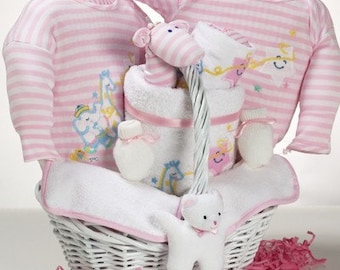 Catch a Star Baby Girl Gift Basket