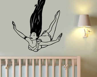 Pocahontas Wall Art Decal Vinyl Sticker Disney Princess Decorations for Home Teen Kids Girls Baby Room Playroom Bedroom Cartoon Decor pocs3