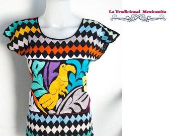 Mexican Oaxaca Blouse - Hand emboidery design