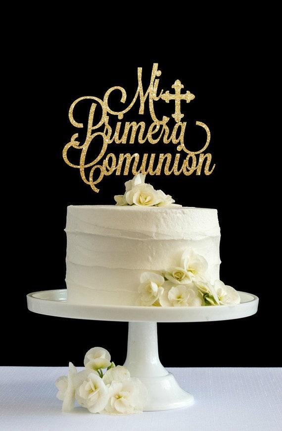 Primera Comunion cake topper Holy communion cake topper
