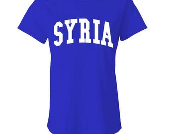 SYRIA - Ladies Babydoll T-shirt