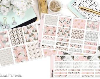 SÉDENTAIRES KIT papier Planner Stickers!