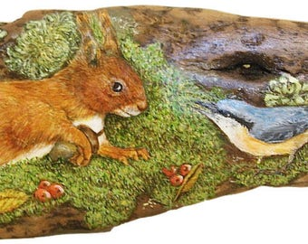 Art On Driftwood