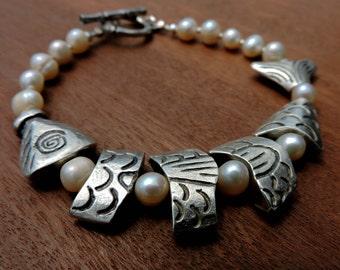 Extra Large Bracelet - Greek Worry Fish Beads