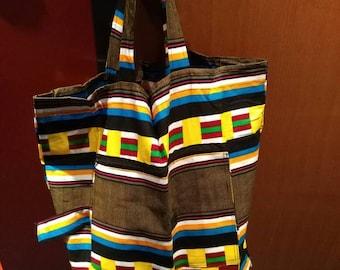 SA9 - Foldable tote bag in wax tote bag