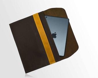 SALE -10% IPad case. leather case Ipad pro 9.7, Ipad leather sleeve. Simple leather case for Ipad . Ipad leather case. Ipad leather pocket.