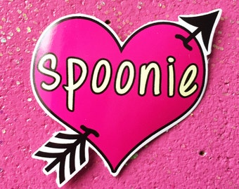 Spoonie Sticker