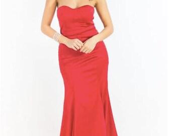Gisella Mermaid Bridesmaid Dress--- In stock and ready to ship!
