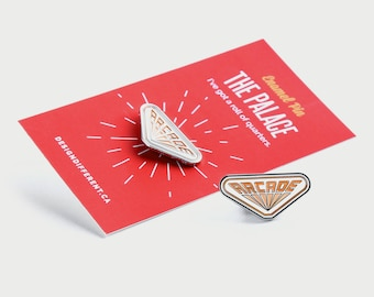 Stranger Things enamel pin - lapel pin