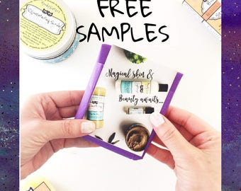 START HERE!  Rock Your Moody Skin with natural health & beauty samples