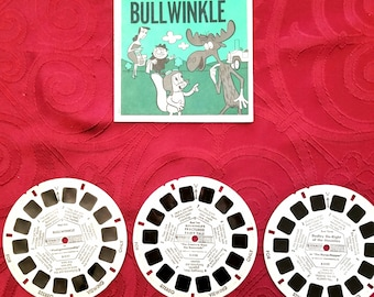 Rocky and Bullwinkle Viewmaster from 1962!