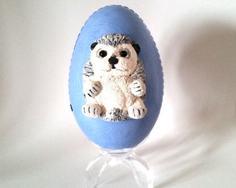 Easter egg polymer clay