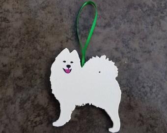 3D Printed Samoyed Ornament