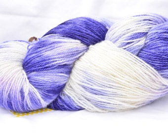 Blueberry Cobbler Hand dyed OOAK yarn