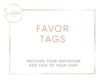 Favor Tags, Engagement Party Favors, Baby Shower Favors, Bridal Shower Favors, Birthday Party, Party Decorations, Party Favor Tags, Party
