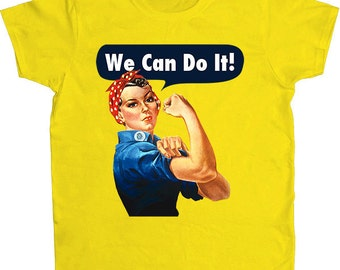 Rosie The Riveter -- Women's T-Shirt