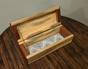 Basic sapele and pine keepsake box