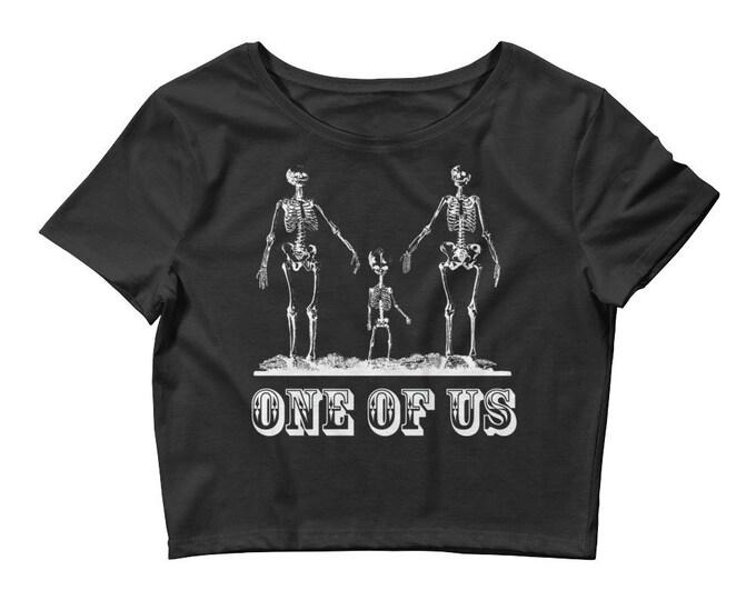 One Of Us Crop- Black