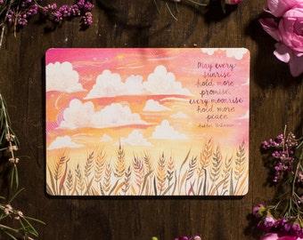 May Every Sunrise - Greeting Card