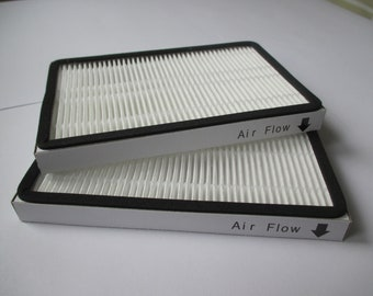 HEPA Vacuum Air Purifier Filter for Kenmore EF-1 20-53295/86889/40324 - Size 4 x 6 x 1/2 inch (2 Pk)
