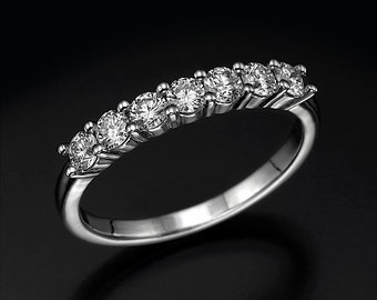 0.56 carat ring, diamond ring, eternity ring, white gold ring, anniversery ring, engagement ring