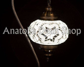 Swanneck Mosaic Lamp Turkish Lamp Ottoman Lighting Chandelier Chandelier Ottoman Lantern Lighting Lamp Lamps Laterns Indoor Lighting DEVE-3