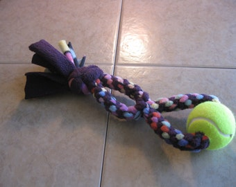 Tug Toy for Dogs Purple