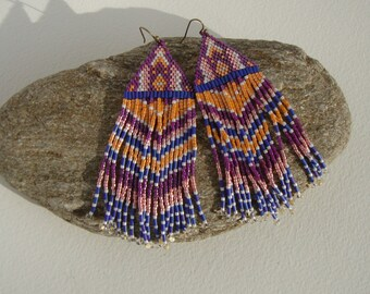 Bohemian, gypsy earrings