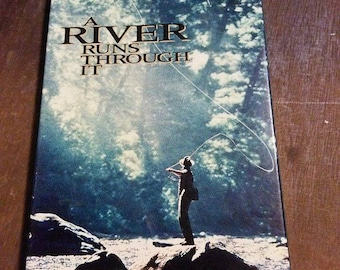 A River Runs Through It VHS / Vhs Tape / VHS Tapes / Movie / Movies / Classic / Robert Redford / 90s / Brad Pitt / Vhs Movie Tape