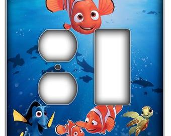 Nemo  Light Switch Cover - Duplex Rocker Decorative Switch Plate Cover