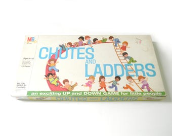 Vintage 1974 Chutes and Ladders Board Game