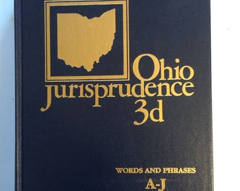 ohio jurisprudence 3d words and phrases A-J 1991