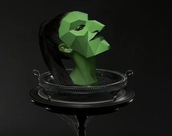 Witch Mask - Build your own costume for Halloween