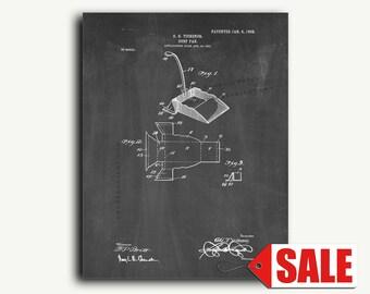 Patent Print - Dust Pan Patent Wall Art Poster
