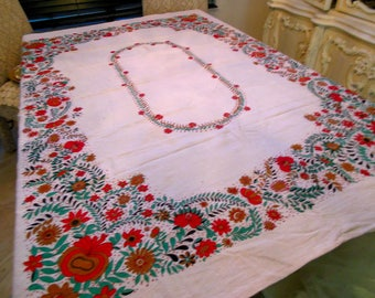 Tablecloth pure linen 68x50 inches
