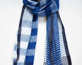 Plant-dyed Scarf