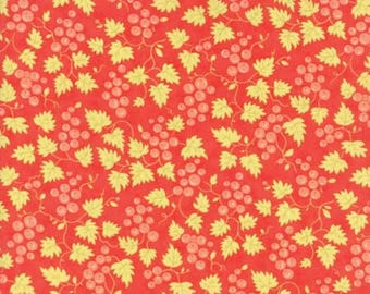 Hazel and Plum - Pomegranate 20297 11 - Moda Fabrics 100% Cotton Quilting Fabric by Fig Tree