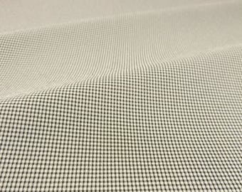 Ultra Fine Crepe Gingham Fabric - 58 Inches Wide